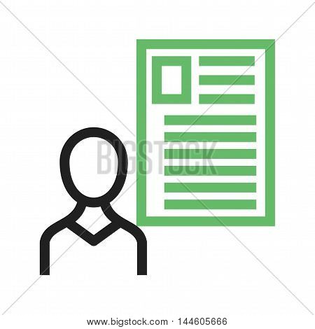 User, male, profile icon vector image. Can also be used for web. Suitable for mobile apps, web apps and print media.