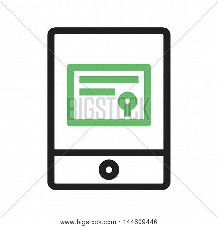 Online, achievement, certificate icon vector image. Can also be used for E Learning. Suitable for web apps, mobile apps and print media.