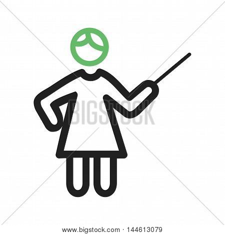 Teacher, classroom, school icon vector image. Can also be used for people. Suitable for use on web apps, mobile apps and print media.