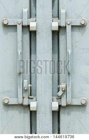 Bogies rusty steel door handles Vintage Style