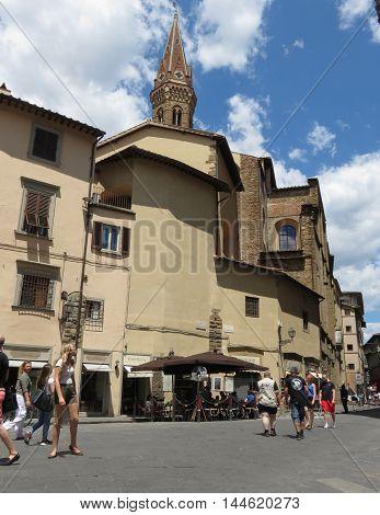 Badia Fiorentina In Florence