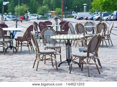 Tables Of Summer Cafe