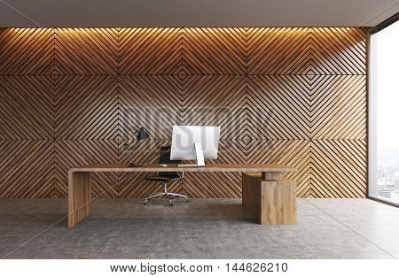 Computer Table In Office