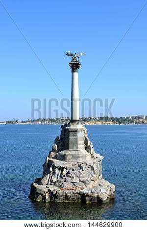 Monument to the Scuttled Ships Sevastopol Russia