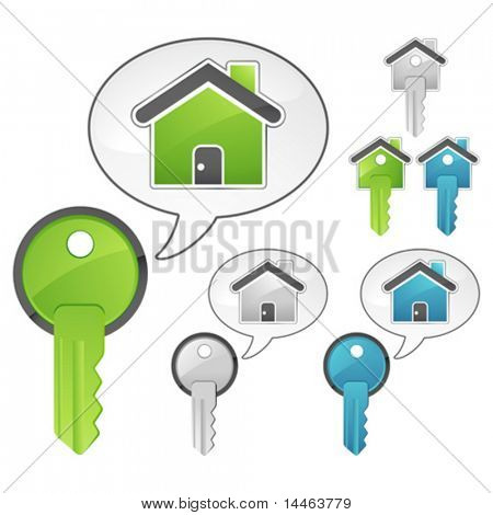 Keys and houses