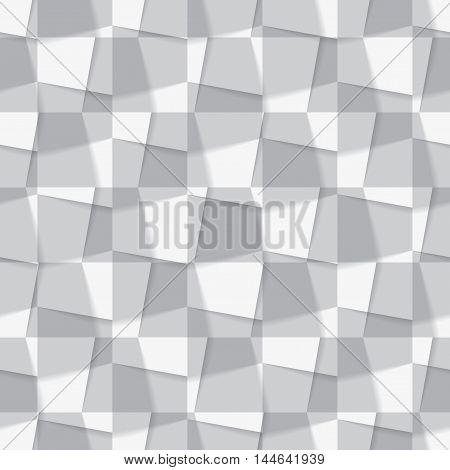 Seamless background made from from different geometric figures. Vector illustration