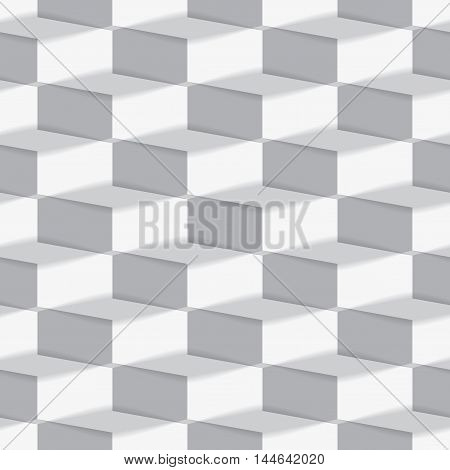 Seamless background made from rectangles. Vector illustration