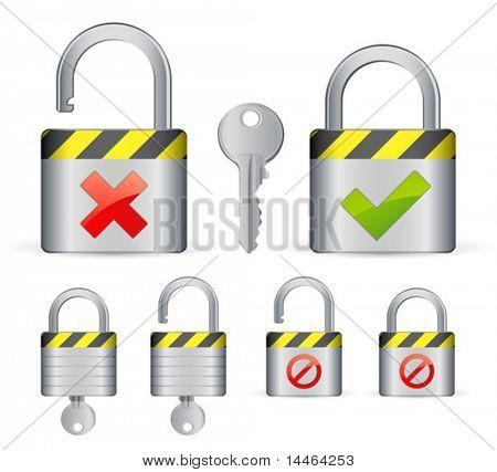 Locks and key