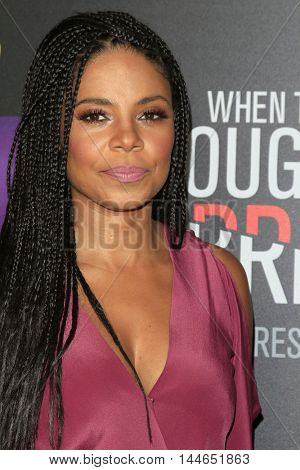 LOS ANGELES - AUG 28:  Sanaa Lathan at the