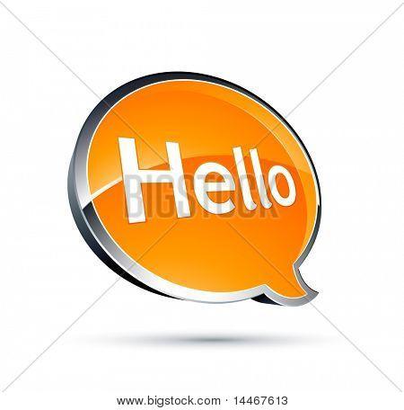 chat box hello