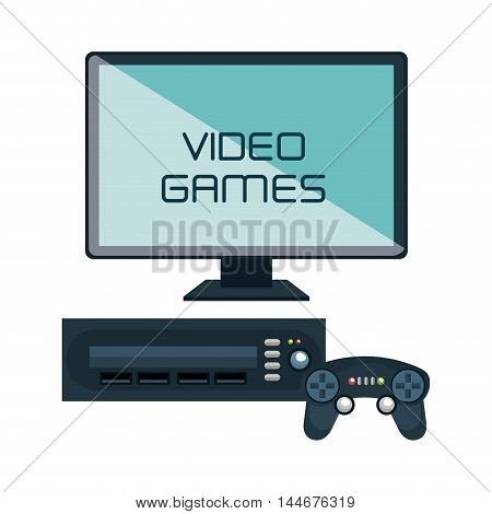 video game interface isolated icon vector illustration design poster