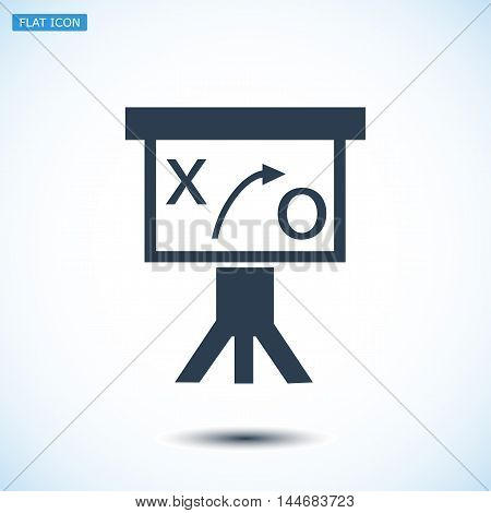 Presentation Sign Icon