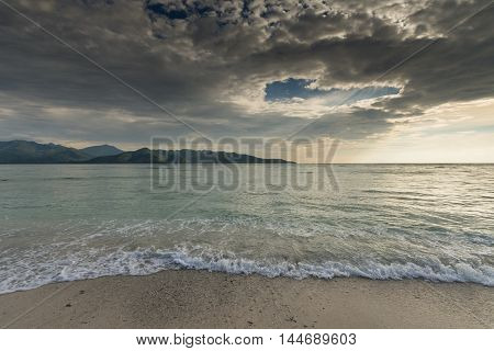 Glli Air Island near bali and Lombok Indonesia 2016