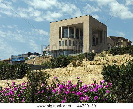 YEREVAN ARMENIA - AUGUST 19 2016:Charles Aznavour House Museum, Yerevan, Armenia.
