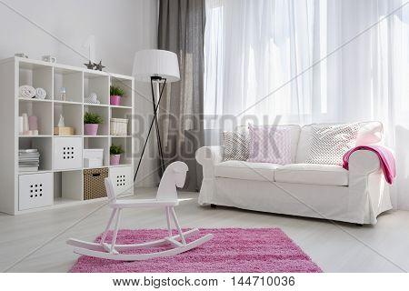 Interior For Little Baby Girl