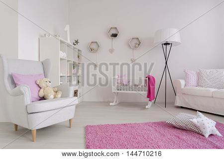 Peaceful Area For Baby Girl