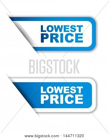 This is blue vector paper sticker lowest price (two variant)