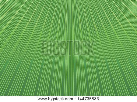 Abstract geometric background with diagonal green lines striped pattern