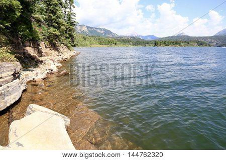 Summer at Electra Lake in Durango, CO