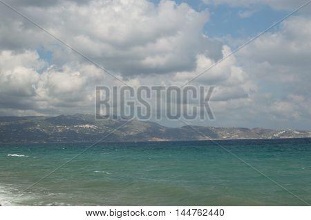 Mediterranean Coast. Crete, Greece