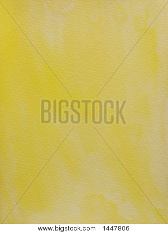 Yellow Grungy Textured Background