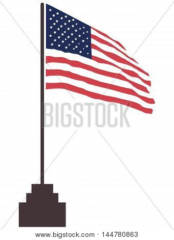 USA Flag american flag usa flag national flag textured
