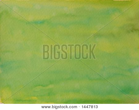 Messy Green And Yellow Background