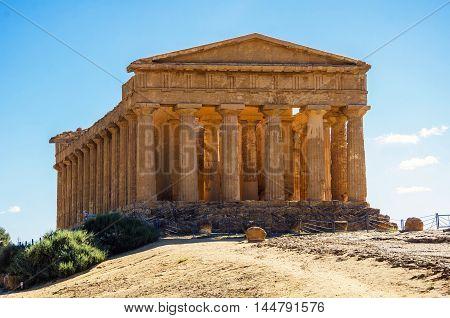 Temple of Concord, Agrigento, Sicily, Unesco Site