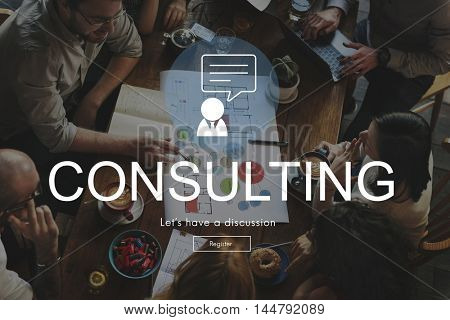 Consulting Advisory Assistance Suggestion Guidance Concept