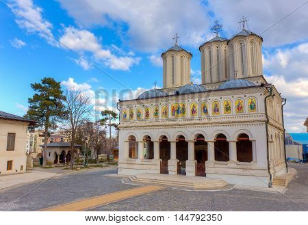 Romanian Orthodox Patriarchal Cathedral in Bucharest, Romania.