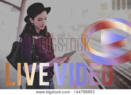 Live Video Player Concept