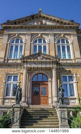 Old Part Of The Felix-nussbaum-haus Museum In Osnabruck