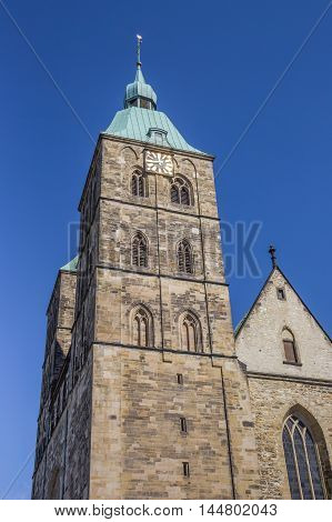 Towers Of The St. John Church In Osnabruck