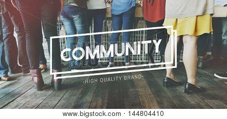 Community Belonging Citizen Unity Diversity Concept