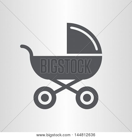 Baby carriage for transporting young children, newborn baby.