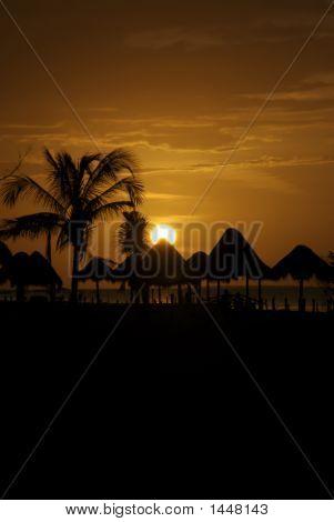 Cabana Sunset 1