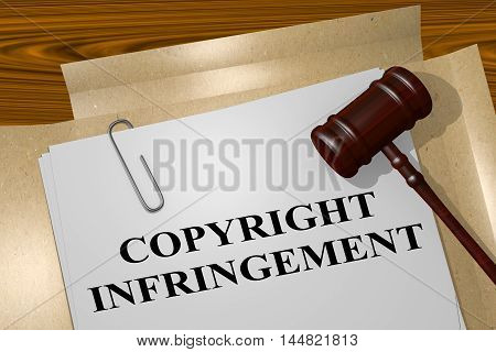 Copyright Infringement - Legal Concept