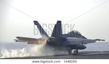 Super Hornet Catapult Shot