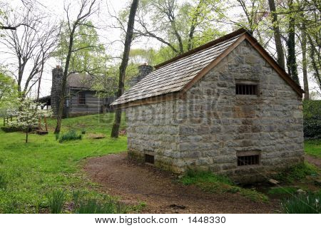 Spring House And Outbuilding Hermitage