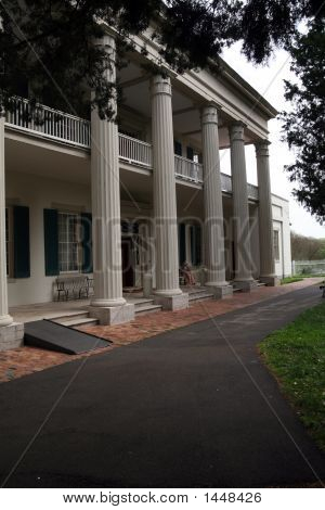 Front View Of Andrew Jackson Estate