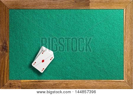 Table Casino And Playing Cards