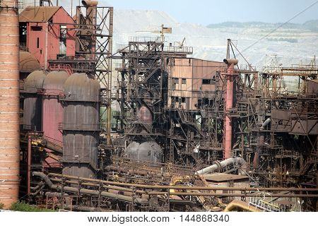 Iron And Steel Works. Satka