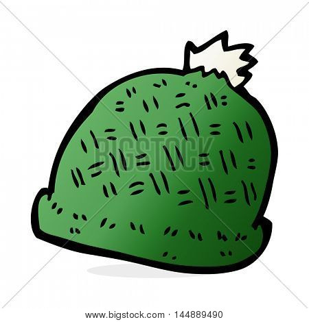 cartoon winter hat