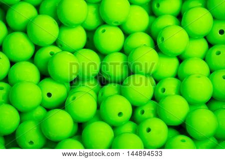 Green Green Green Green Green Green beads background