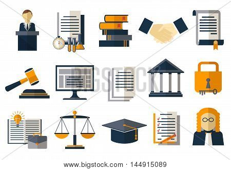 Legal compliance deal protection and copyright regulation. Copyright legal, protection and regulation, regulate compliance agreement, vector illustration