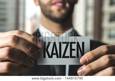 Kaizen (Japanese business philosophy of continuous improvement)
