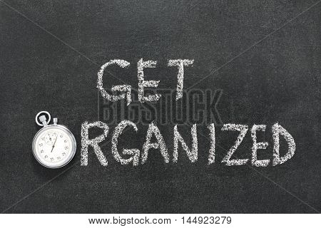Get Organized Watch