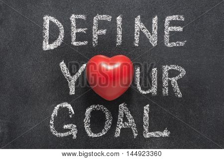 Define Your Goal Heart