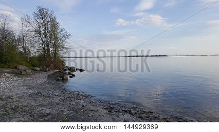 View of Wolfe Island from Kingston, Ontario