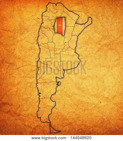 Santiago Del Estero Region Territory In Argentina
